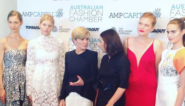 Australian Fashion Given A Boost By Foreign Affairs Minister Julie Bishop