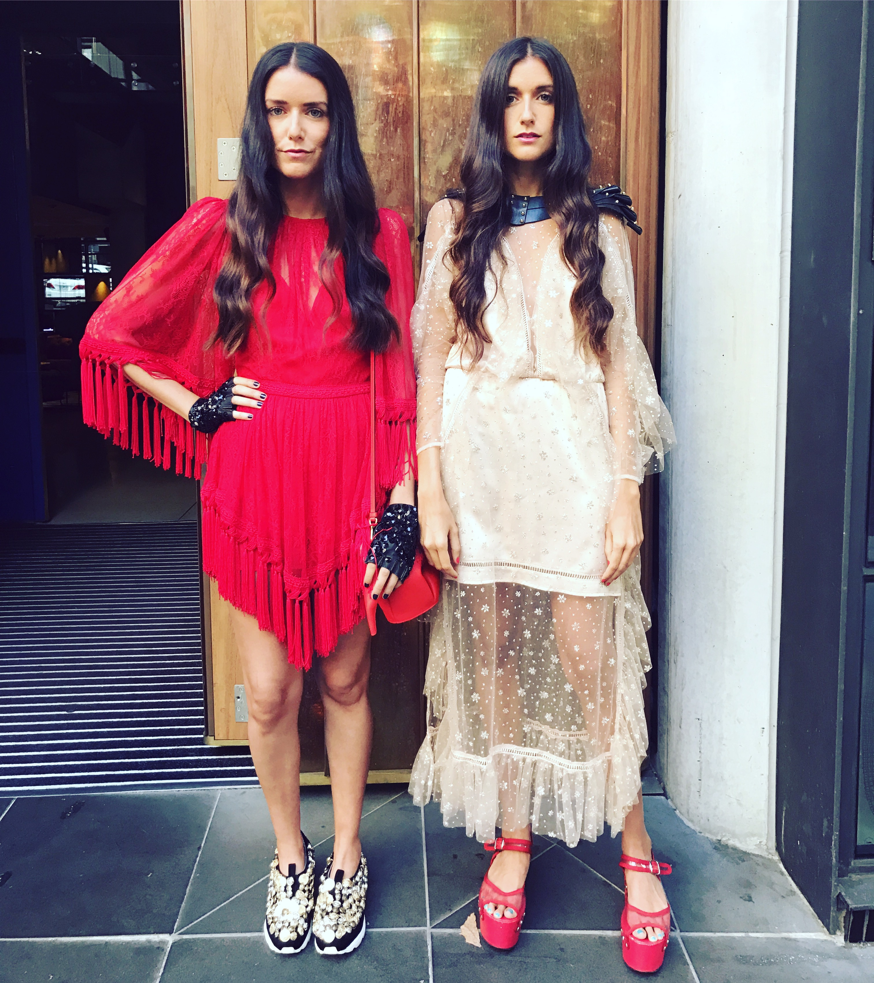 The Dadon Sisters from How Two Live - Miro Door